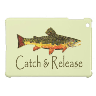 Catch and Release Fishing iPad Mini Case