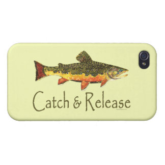 Catch and Release Fishing iPhone 4/4S Case