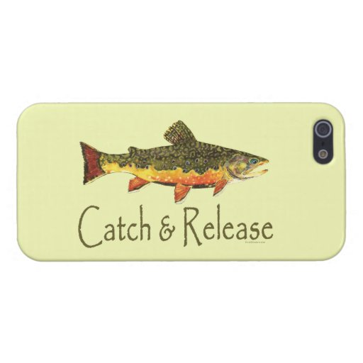 Catch and Release Fishing Cover For iPhone 5/5S
