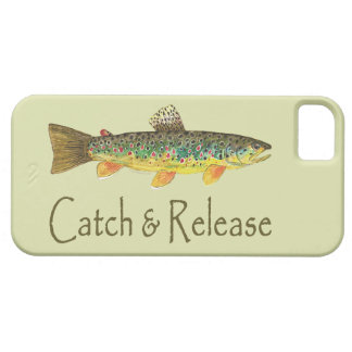 Catch and Release Fishing iPhone SE/5/5s Case