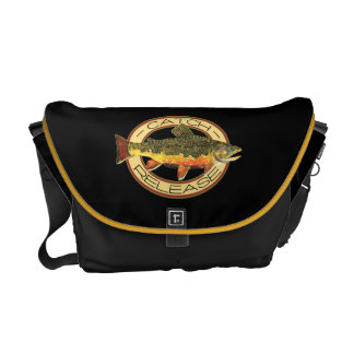 Catch and Release Fishing Messenger Bag
