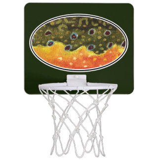 Catch and Release Fishing Mini Basketball Backboard