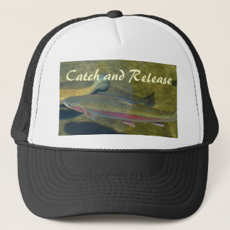 Catch and Release hats Rainbow Trout Fishing
