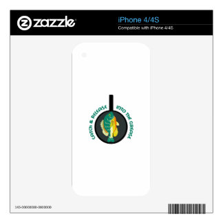 CATCH AND RELEASE iPhone 4 SKINS