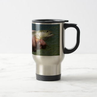 Catch and Release Trout - Customized Travel Mug