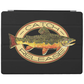 Catch and Release Trout Fishing iPad Smart Cover