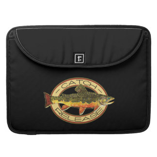 Catch and Release Trout Fishing MacBook Pro Sleeve
