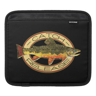 Catch and Release Trout Fishing Sleeve For iPads