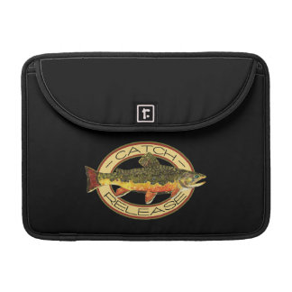 Catch and Release Trout Fishing Sleeve For MacBook Pro