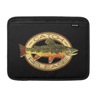 Catch and Release Trout Fishing Sleeves For MacBook Air