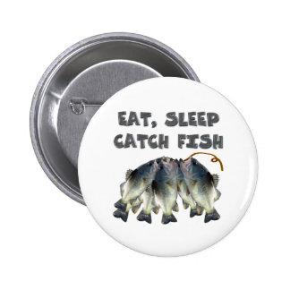 catch fish 2 inch round button