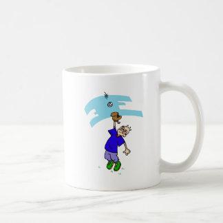 Catch fly ball coffee mug