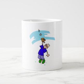 Catch fly ball jumbo mugs