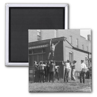 Catch Me If You Can: 1920 2 Inch Square Magnet