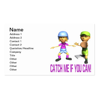 Catch Me If You Can Business Card