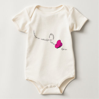 catch me if you can butterfly baby bodysuit