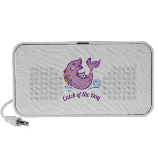 Catch Of Day Laptop Speakers