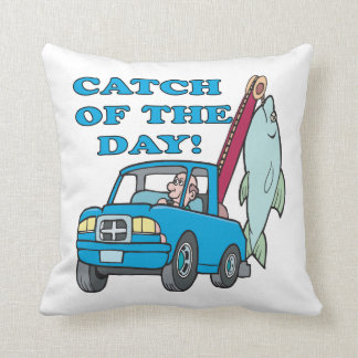 Catch Of The Day 2 Throw Pillow