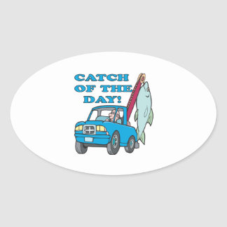 Catch Of The Day 2 Stickers