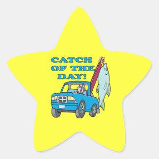 Catch Of The Day 2 Star Sticker