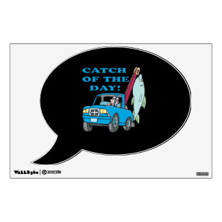 Catch Of The Day 2 Wall Stickers