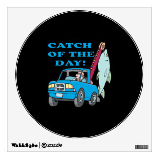 Catch Of The Day 2 Wall Decal