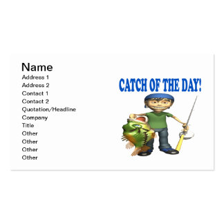 Catch Of The Day Business Card