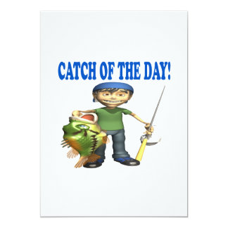 Catch Of The Day Card