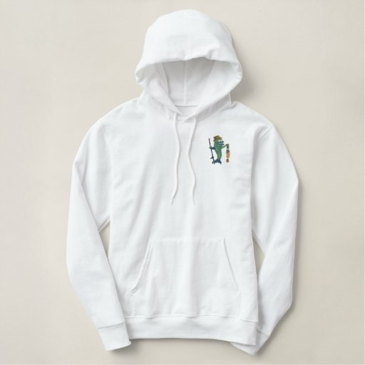 Catch of the Day - Customize Embroidered Hoodie