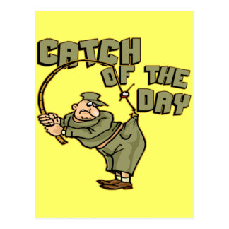 Catch Of The Day Fishing T-shirts Gifts Postcard