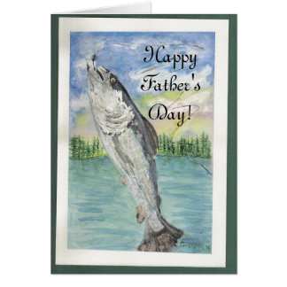 Catch of the Day, Happy Father's Day! Card
