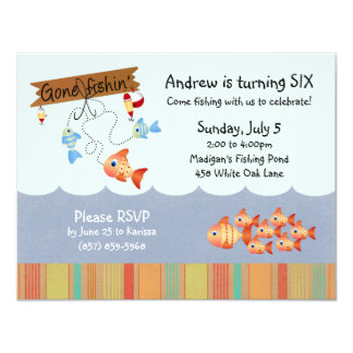 Catch of the Day Invitations