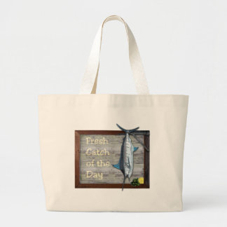 Catch of the Day Jumbo Tote Bag