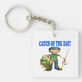 Catch Of The Day Keychain