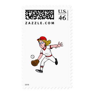 Catch Postage Stamp