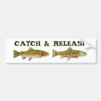 Catch & Release Bumper Sticker
