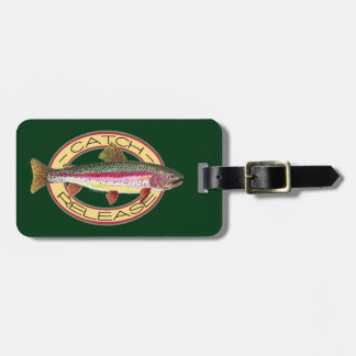 Catch & Release Fishing Bag Tag