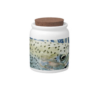 Catch & Release Fishing Designs Candy Dishes