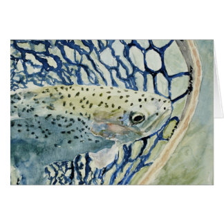Catch & Release Fishing Designs Stationery Note Card