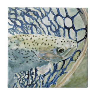 Catch & Release Fishing Designs Ceramic Tile