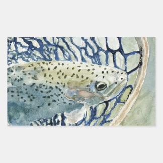 Catch & Release Fishing Designs Rectangular Sticker