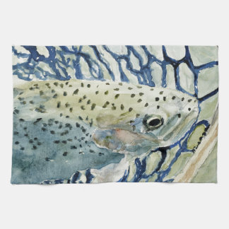 Catch & Release Fishing Designs Towel