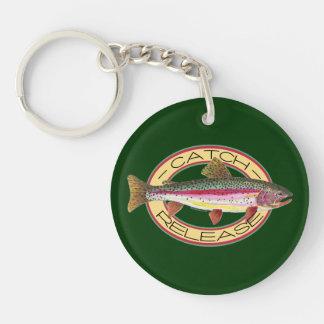 Catch & Release Fishing Keychain