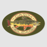 Catch & Release Fishing Stickers