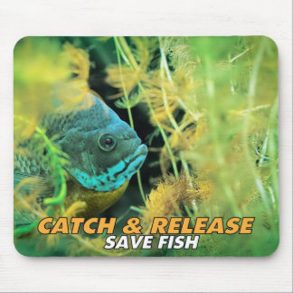 Catch & Release Mosepad Mouse Pad