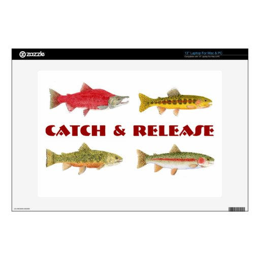 Catch & Release PC Decor Skins For Laptops