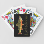 Catch & Release Trout Fishing Bicycle Card Decks