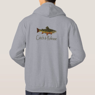 Catch & Release Trout Fishing Hoodie