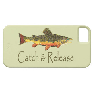 Catch & Release Trout Fishing iPhone SE/5/5s Case