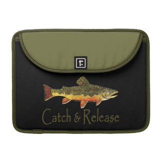 Catch & Release Trout Fishing MacBook Pro Sleeve
